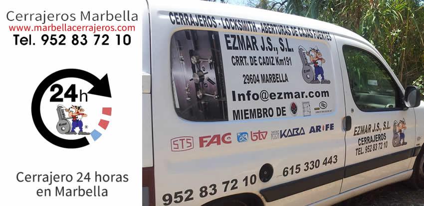 CERRAJERO Marbella 24 horas mejor PRECIO
