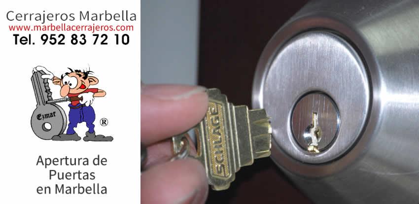 APERTURA de puertas Marbella con el mejor PRECIO